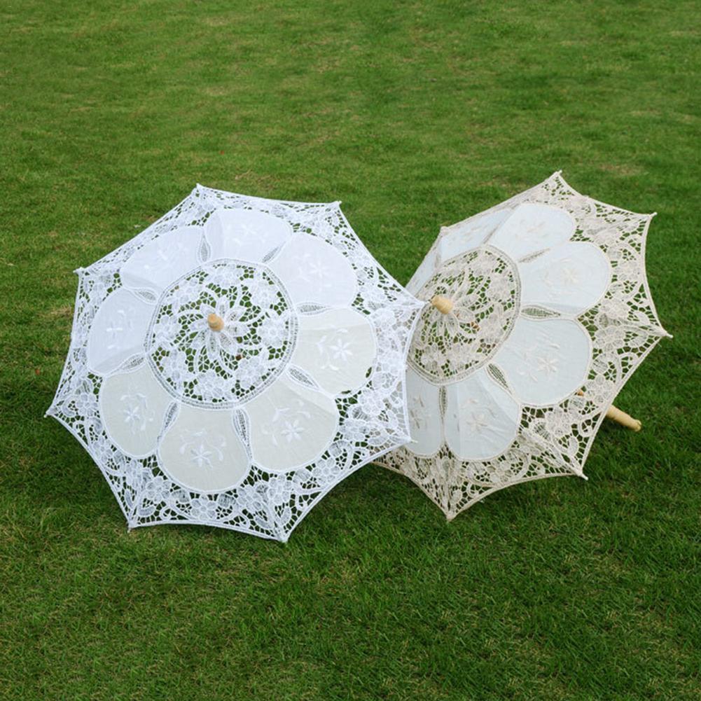 lace parasol umbrella beautiful vintage handmade