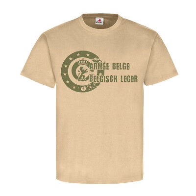 Armee-logo-t-shirt (Armée belge Belgisch leger Belgische Streitkräfte Armee Logo T Shirt #18567)