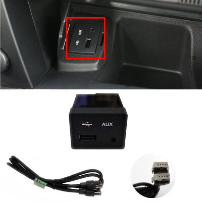 AUX USB Audio Jack Hardness set for Ssangyong Korando/Actyon Sports OEM Part