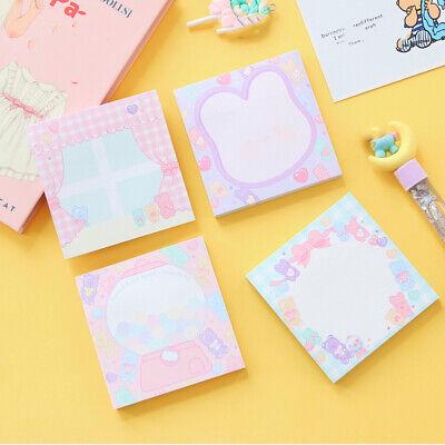 Cute Note Marker Paper Adhesive Memo Pad School Desk Organizing Gadget