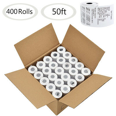 400 Rolls 2 14 X 50 Thermal Paper Cash Register Pos Receipt Paper Tape