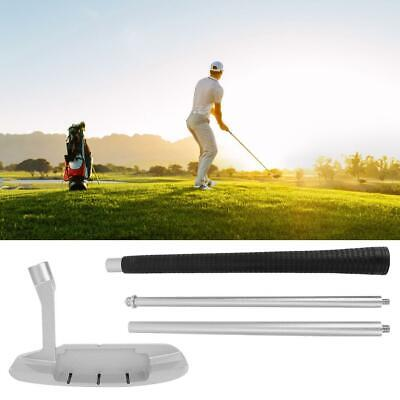 Four-section Portable Golf Putters Clubs for Golfs Putting Practices Train Acces