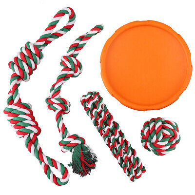 Dog Rope Toys for Aggressive Chewers Puppy Chew Teething Treats Tug Toy Pack -