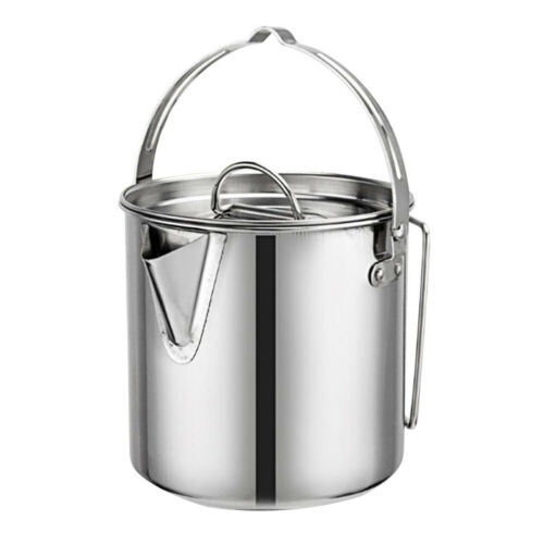 Outdoor Stainless Steel Camping Cookware Picnic Backpacking