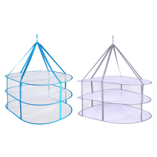 clothes sweater hanging drying rack 3 tier