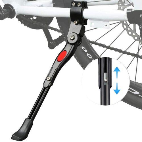 Bike Kickstand Support Anti-slip Rubber Feet Universal Adjustable Height Alloy