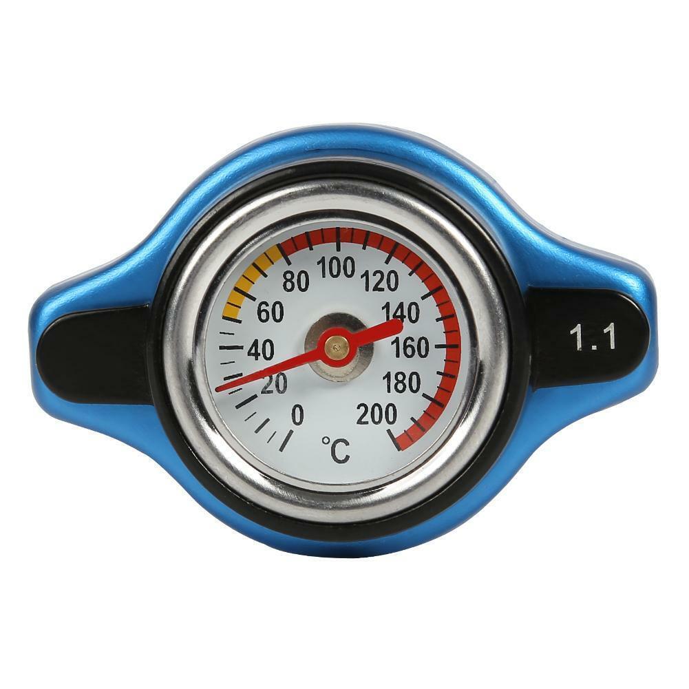 Big Head Temperaturanzeige mit Thermo Kühlerdeckel Tankdeckel 1.1Bar