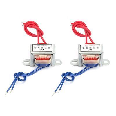 Ac 220v Input To Ac 12v24v Output Voltage Single Power Transformer 50hz 2w