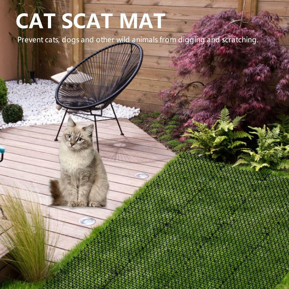 Cat Scat Mat Spikes Cat Deterrent Outdoor Mat Garden Fence R