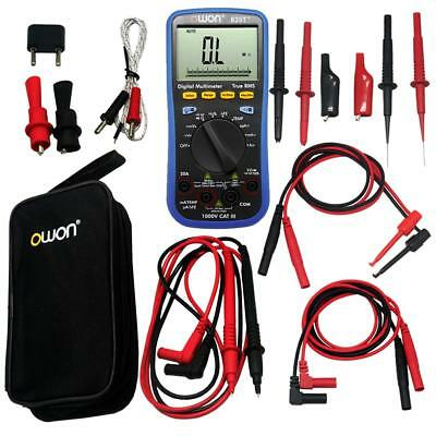 Owon Large Lcd B35t Multimeter Bluetooth Tl809 Fluke Test Leads Tlp20157 Usa