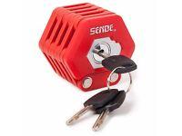 (2120) SENDE FOLDING LOCK; BIKE BICYCLE CHAIN LOCK; GERMAN TECHNOLOGY