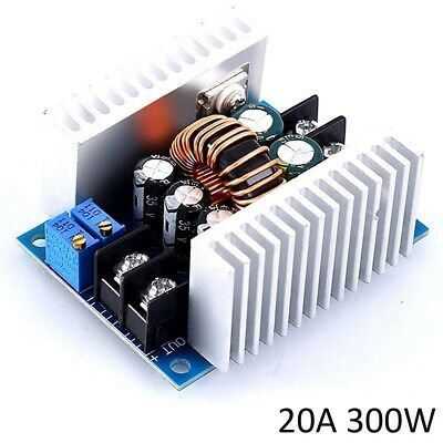 20a 300w Buck Boost Power Adjustable Charger Board Module Step Up Step Down