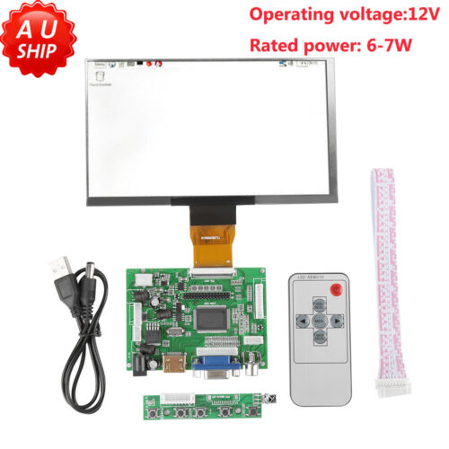 "7"" inch LCD 1024*600 for Raspberry Pi HDMI+VGA+2AV Driver Bo"