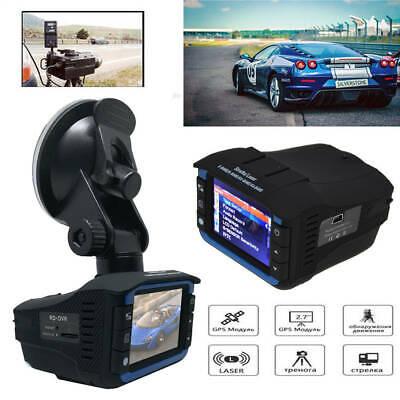 2 dans 1 Anti Radar Speed Detector Car DVR Recorder Video Dash Camera Night Vision