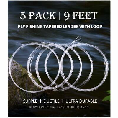 TIPPET RINGS size 2.5mm 5 orvis umpqua rio leader fly fishing made in JAPAN