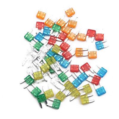 60pcs Auto Car Truck Mini Blade Fuses 5a 10a 15a 20a 2530a Assortment Mixed Kit