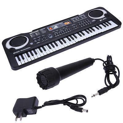 61 Keys Digital Music Electronic Keyboard Key Board Electric Piano Children Gift