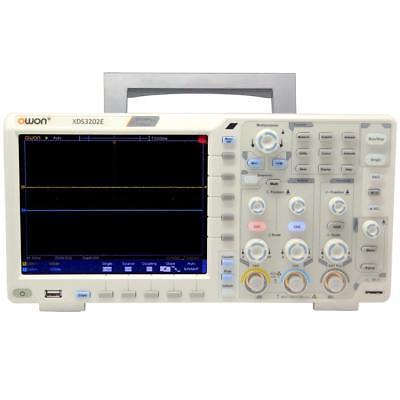 Owon Xds3202e Oscilloscope 200mhz 1g 2chs 8 Bits Adc Decoding Kit Lcd Fft Usb