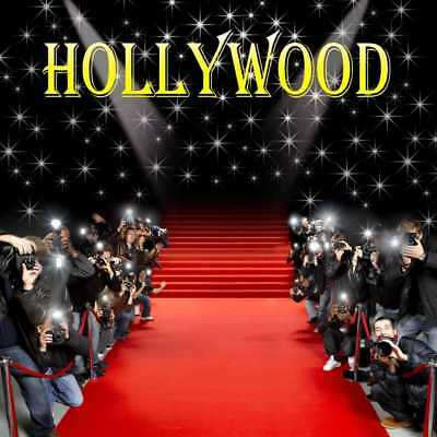 Hollywood Star Photo Red Carpet Photography Backdrop Printed Background - Hollywood Red Carpet Backdrop