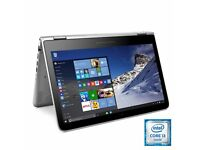 HP i3 Convertible x360 Laptop 13.3 inch Touch-Screen Intel 1 TB HDD Windows 10 B&O built in speakers