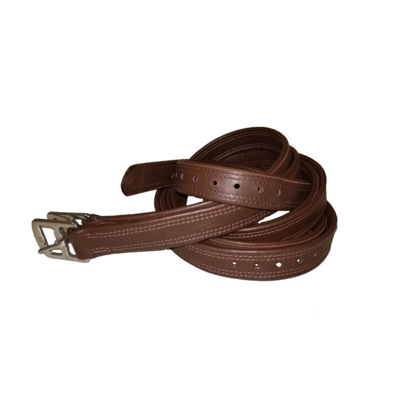 INTREPID INTERNATIONAL 60in Pro-Trainer Softy Oak Lined Stirrup Leathers