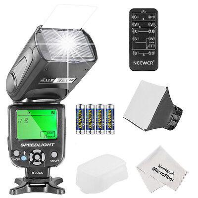 Neewer NW561 Flash Kit w/ reflector f Canon Nikon Olympus Fujifilm DSLR Cameras