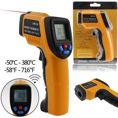 Laser Temp Gun - Temp Meter Temperature Gun Noncontact Digital Laser IR Infrared Thermometer US L