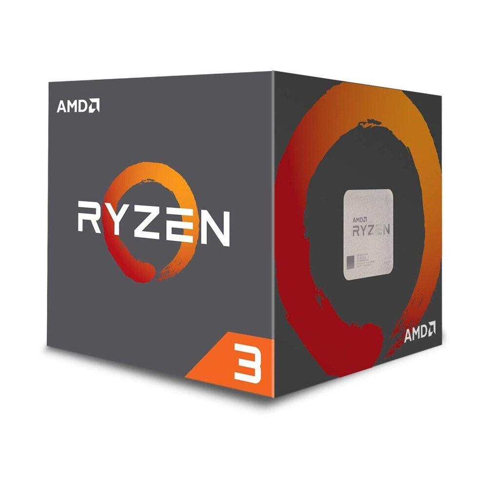 AMD Ryzen 3 1200 4-Core 3.1GHz  Desktop Processor YD1200BBAE