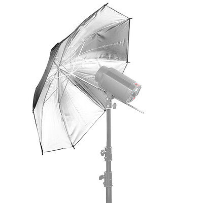 "Neewer Photo Studio 36"" Nylonx Black/Silver Reflective Lighting Umbrella"