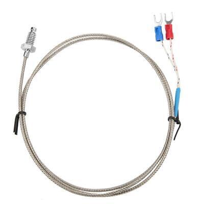 M6 Screw Probe Temperature Sensor Measuring Probe K Type Thermocouple Cable 1-5m