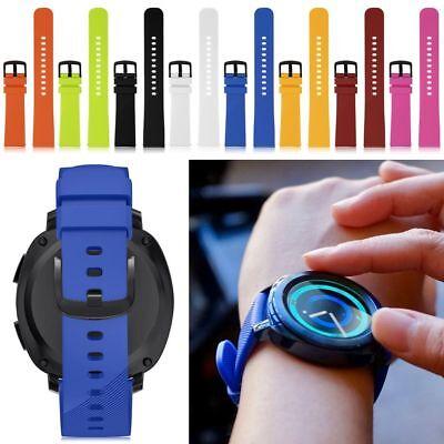 20MM Silicone Wrist Band Strap Bracelet For Samsung Gear Sport Smart Watch