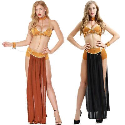 n Leia Sklavin Miss Manners Kleid Nightwear Unterwäsche Set (Leia Kleid)