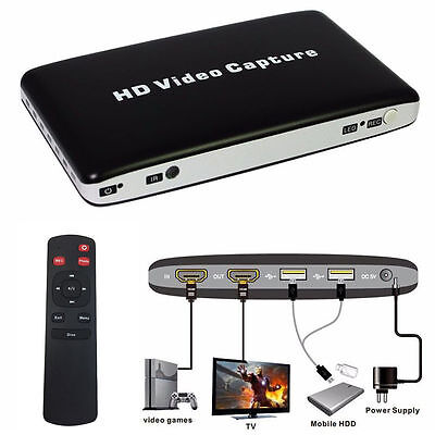 UH50 USB2.0 HDMI HD Video Capture Box Card Portable Game Video Recorder US BP