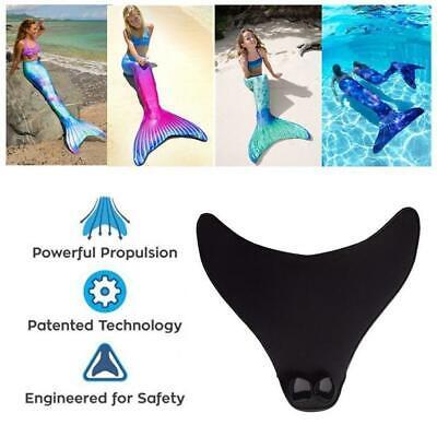 Kid Adult Meerjungfrau Tails Swimmable-Mono Monofin Schwimmen Flossen Flipp I5X7