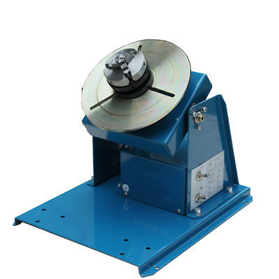 110v Rotary Welding Positioner Turntable Table 2.5 3 Jaw Lathe Chuck 2-20rpm Us
