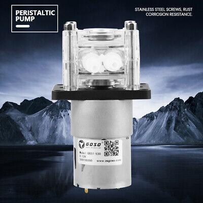 12v Dc High Flow Peristaltic Pump Tube Vacuum For Aquarium Lab Analytical Water
