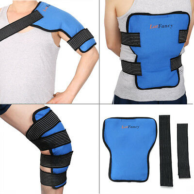 Ice Gel Pack Wrap Hot Cold Therapy Shoulder Back Knee leg Pain RelieIf Injuries (Cold Therapy Gel Pack)