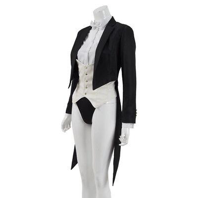 Zatanna Cosplay Costume Women Tailcoat Jacket Full Set party Costume - Zatanna Costume