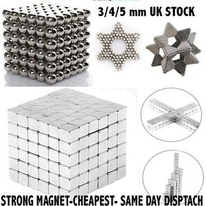 Magnetic-Cube-Magnet-Balls-Magic-Square-3D-Puzzle-Ball-Sphere-Toy-3-4-5mm-216pcs