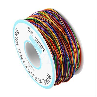 Pn B-30-1000 30awg Tin Plated Copper 8-wire Colored Insulation Test Wrapping Bs