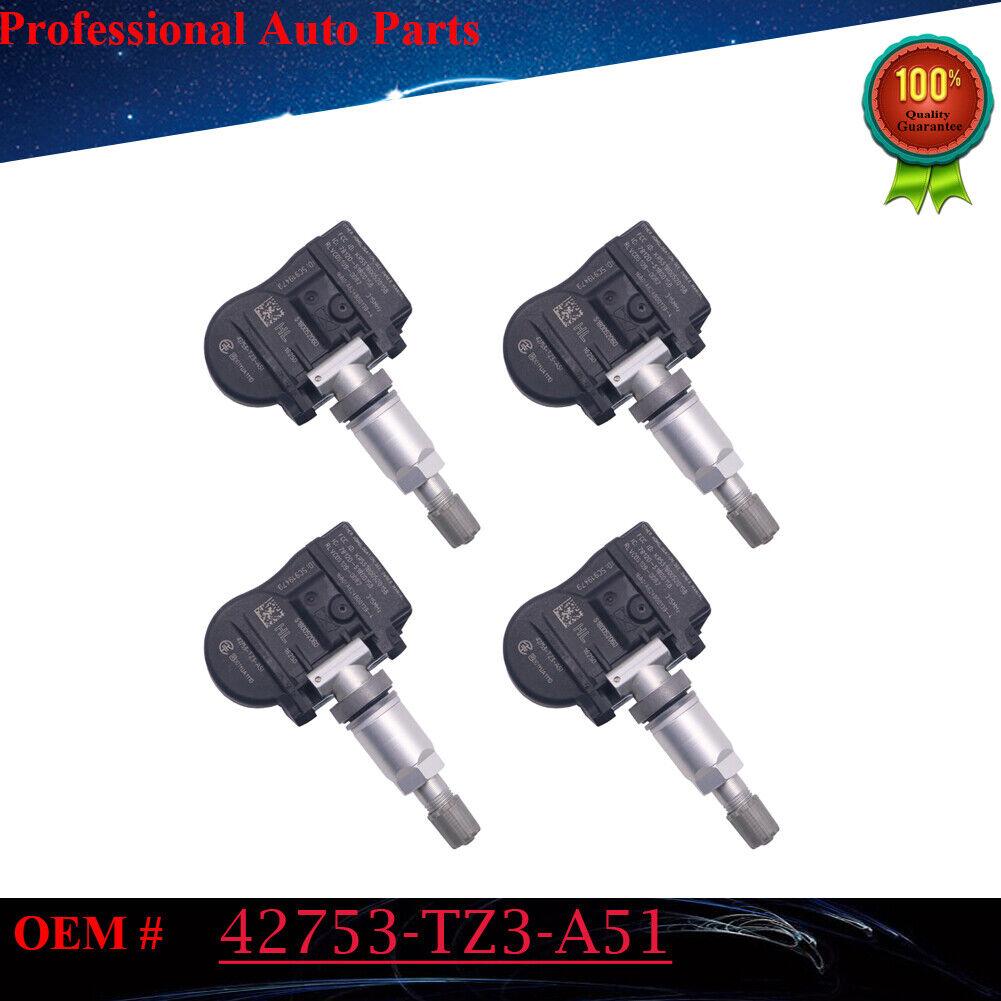 4PCS 42753-TZ3-A51 Tire Pressure Sensor 315MHZ For Honda