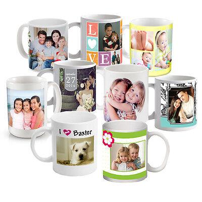 New Custom/Personalized Ceramic 11oz Photo/Logo Coffee Mug Printed
