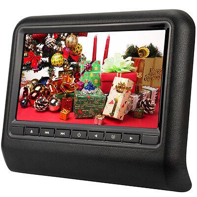 9 Zoll DVD Player Auto Kopfstützen TFT LCD Headrest Monitor Kissen USB SD IR FM