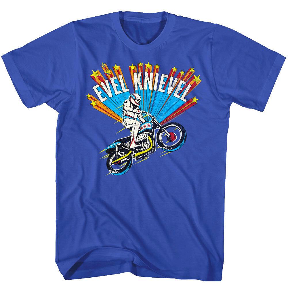 evel knievel shooting stars motorcycle jump men