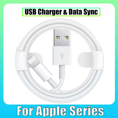 USB Charger & Data Sync Cable Lead Wire For Apple iPhone 12...