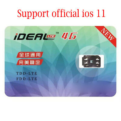 Ideal Unlock Turbo Sim Card Gpp For Iphone 8 7 6S 6 Plus   Se 5S 5C 5