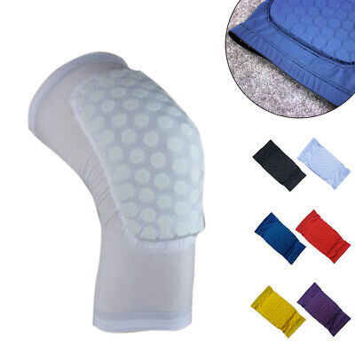 Honeycomb Adult Knee Pad Basketball Crashproof Antislip Leg Sleeve Protect Gear Health & Beauty