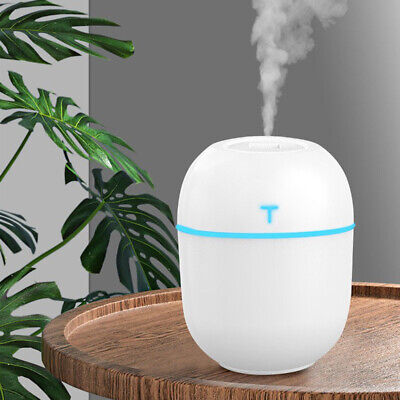 200ml LED Air Diffuser Purifier Lonizer Atomizer Ultrasonic Humidifier for Home