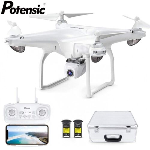 Potensic D58 FPV Drone with Carry Case 1080P HD Camera 5G WiFi RC Quadcopter