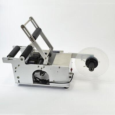 Neu Etikettiermaschine Etikettierer Halbautomatisch Runde Flasche MT-50 Labler